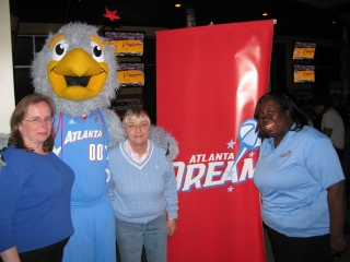 Atlanta Lions at the Atlanta Dream sponsored  NCAA Women's Basketball National Title at Hudson Grille