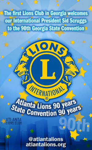 Atlanta Lions Georgia State Convention 2011 Ad